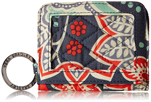 Vera Bradley Womens' Campus Double ID Holder, Nomadic Floral, One Size by Vera Bradley