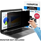 Laptop Privacy Screen 15.6' - Information Protection Privacy Filter for Laptop - Anti-Glare, Anti-Scratch, Blocks 96% UV - Matte or Gloss Finish Privacy Screen Protector - 16:9 by Adaptix (APS15.6W)