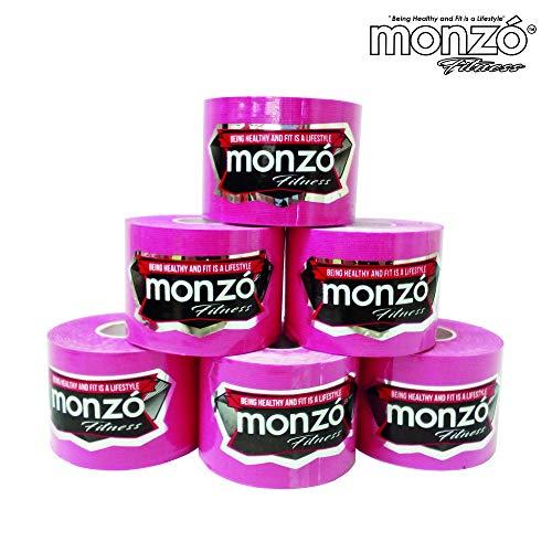 MONZÓ, Cinta Kinesiológicas, Cinta Kinesio, Kinesio Tapes (Pink)