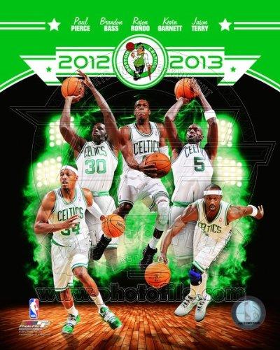 NBA Boston Celtics 2012-2013 Team Composite Photo 8x10 ()