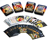 Angry Birds Star Wars Playing Cards _ Bundle of 4 Decks in 4 Colorful Tins