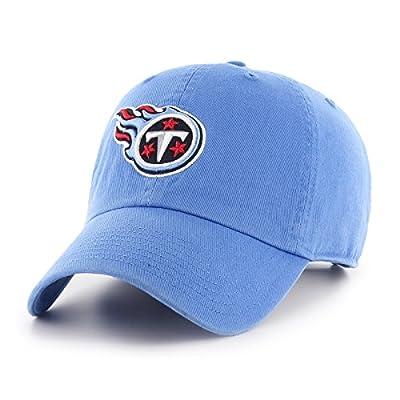 OTS NFL Tennessee Titans Men's Challenger Adjustable Hat, Team Color, One Size