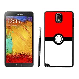 Grace Protective Pokemon 4 Black Samsung Galaxy Note 3 Case hjbrhga1544