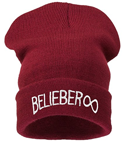 Rojo Black Winter Day Men Oscuro Hair 4sold Warm Beliber Bad Hat Beanie xqnXwn1gvH