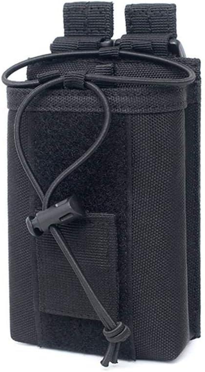 Bolsa de walkie-Talkie para Deportes al Aire Libre Bolsas de interfono port/átiles Bolsillo peque/ño Paquete de Almacenamiento Soporte de Radio Corto Funda de Radio Bolsa de walkie Talkie