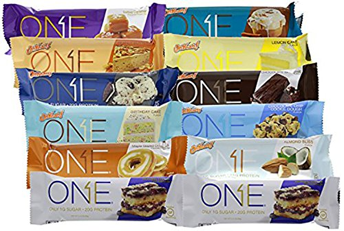 Oh Yeah! One Bar yjnvw - 12 Bar Variety Pack (One of Every Flavor) by ISS