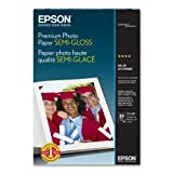 "Epson - Photo Paper,Semi-Gloss,13""x19"",68 lb.,10.4 mil,White, Sold as 1 Each, EPSS041327"