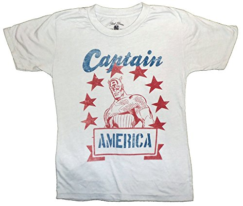 Marvel+Comics+Retro+Shirt Products : Captain America Stencil Star Logo Youth Tee Marvel Comics Vintage Retro T-shirt