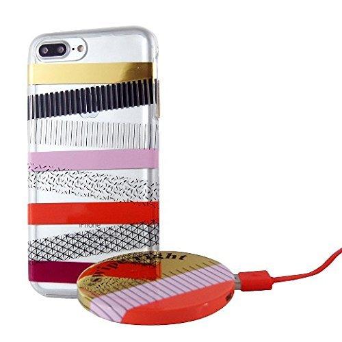 iPhone 7 Plus Case - Wit & Delight - Washi Tape - Delight Stripe