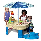 Step2 New Sail Away Adventure Sand & Water Table with Umbrella