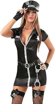 XSQR Policía de Fetish Fetish Disfraz de policía Oficial de ...