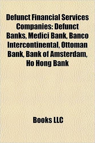 Amazon in: Buy Defunct Financial Services Companies: Defunct