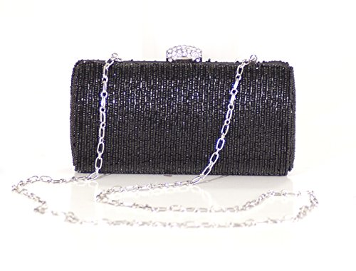 la-regale-beaded-minaudiere-clutch-black