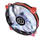 Thermaltake 200mm Luna 20 Series White LED High Airflow Case Fan CL-F026-PL20WT-A