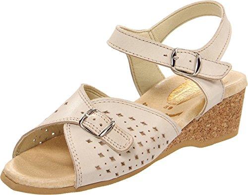 Worishofer Womens 811 Bone Sandals 37 (US Women's 6.5-7) M (B)