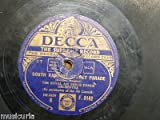 78 rpm ROYAL AIR FORCE DANCE ORCH south rampart street parade / ringle dingle