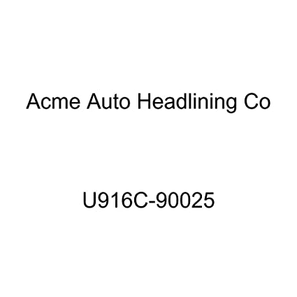 Acme U916C-90025 Front and Rear Light Turquoise Vinyl Bench Seat Upholstery