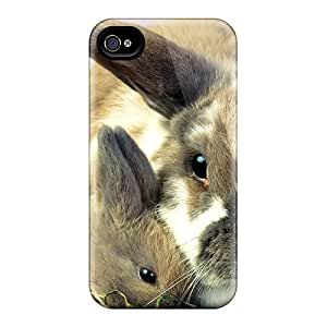 First-class Cases Covers For Iphone 6 Dual Protection Covers Cute Pair Of Rabbits