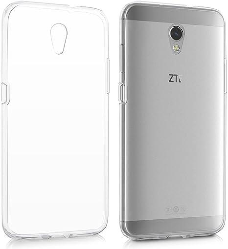 REY Funda Carcasa Gel Transparente para ZTE Blade V7, Ultra Fina 0 ...