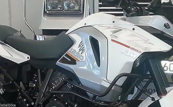 ADESIVI 3D PROTEZIONI LATERALI SERBATOIO compatibile per KTM 1290 SUPER ADVENTURE