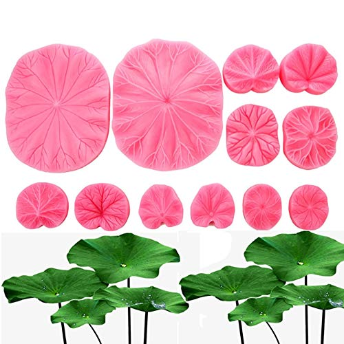 BIG-DEAL_Lotus Leaf Silicone Mold Fondant Mould Cake Decorating Tool Chocolate, Gumpastes Mold, Sugarcraft,Kitchen Gadgets - (Color:A) by BIG-DEAL (Image #5)