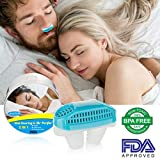 Snoring Solution,Anti Snoring Devices Snore Nasal Dilator Nose Vents Clip Air Purifier Snore Stopper Best Snoring Aids Snore Reducing Sleep Aids Stop Snoring Vents for Ease Breathing Men Women (Blue)