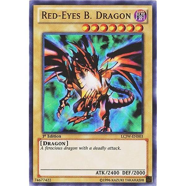 Limited Edition Dragon x 3 Ultra LC01-EN006 Playset Red-Eyes B Yugioh