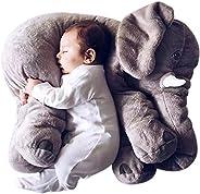 MJTP 24 inch Elephant Pillow Cute Stuffed Animals Pillow Soft Toys Plush Toys