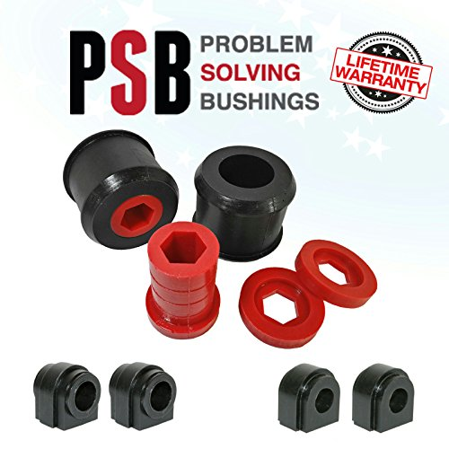 (2 x Mini R50/R53 Wishbone & Front/Rear Anti Roll Poly Polyurethane Bush 00 - 15)