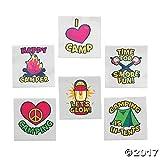 Camp Tattoos - 72 pc