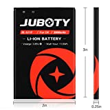JUBOTY G4 Battery 2X 3000mAh BL-51YF Battery with
