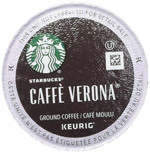 Starbucks Caffe Verona Coffee 96 K Cups Packs ()