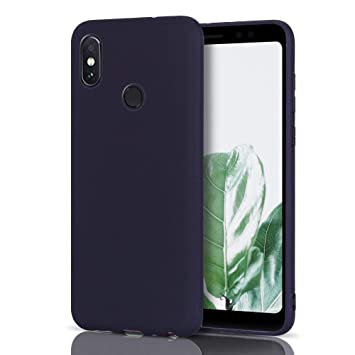Anfire Funda Xiaomi Redmi Note 5 Pro, Carcasa Redmi Note 5 Pro Silicona Gel TPU Case Ultra Delgado Suave Mate Goma Protectora Caso Flexible Caja Ligero Bumper Cover Color Sólido Tapa: Amazon.es: