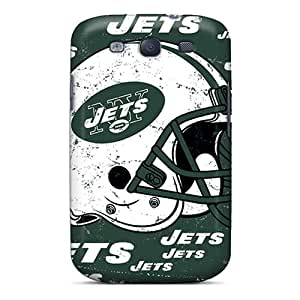 Great Cell-phone Hard Cover For Samsung Galaxy S3 (ZLx19091Foue) Allow Personal Design High-definition New York Jets Series