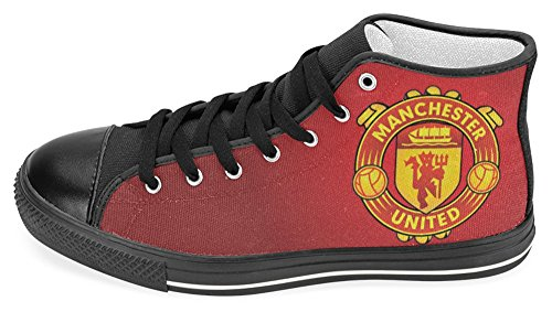 Manchester United Shoes - Men Canvas Shoes Manchester United Football Club Logo