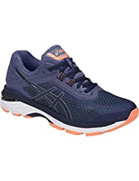 ASICS GT2000 6 Shoe Women's Running 13 Indigo Blue-Smoke Blue