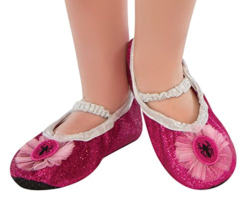 Rubies Pink Spider-Girl Costume Child Slipper Shoes