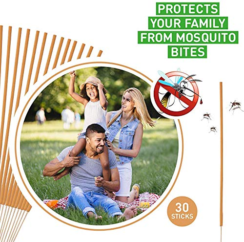 I IBIFICC Sticks, High Protection, for Outdoor Garden Yard and Indoor (Pack of 30)