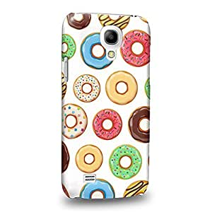 Case88 Premium Designs Art Sweet Donut Assorted Wonderland Party A Protective Snap-on Hard Back Case Cover for Samsung Galaxy S4 mini