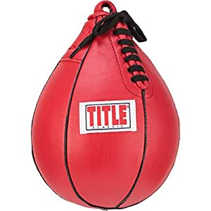 """TITLE Classic Speed Bag, Red, 5"""" x 8"""""""