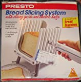 Presto Bread Slicing System with Electric Knife
