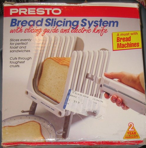 Presto Bread Slicing System with Electric Knife by Presto (Image #1)