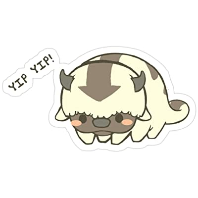 BreathNenStore Yip Yip Little Appa! T-Shirt Avatar The Last Airbender All Seasons Stickers (3 Pcs/Pack) 2978176644162: Kitchen & Dining