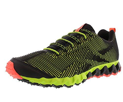 Reebok Men's Zigmaze Running Shoe,Charged Green/Black/Vit...