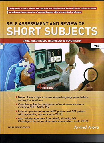 Buy Self Assessment And Review Of Short Subjects Skin