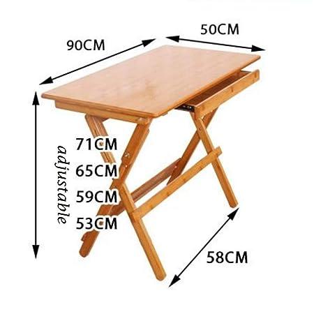 Hechgobuy - Extremo Plegable para Mesa (90 x 50 x 53 a 71 cm ...