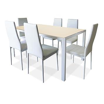Set À 150 X Divine Table De Home Chaises 90 Cm6 H75 Manger uTKFJ5l31c