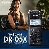Tascam DR-05X 2-Input / 2-Track Portable Handheld