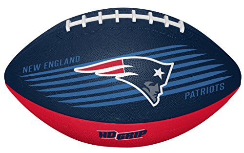 NFL New England Patriots 07731076111NFL Downfield Football (All Team Options), Blue, Youth