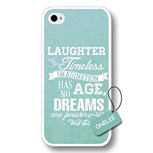 Dreams Walt Disney Quote For Case Iphone 6 4.7inch Cover - Custom Personalized Hard Plastic For Case Iphone 6 4.7inch Cover - White 2